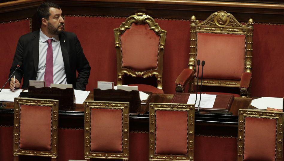 Italiens Innenminister Salvini: Mal aggressiv, mal charmant - und immer gnadenlos populistisch