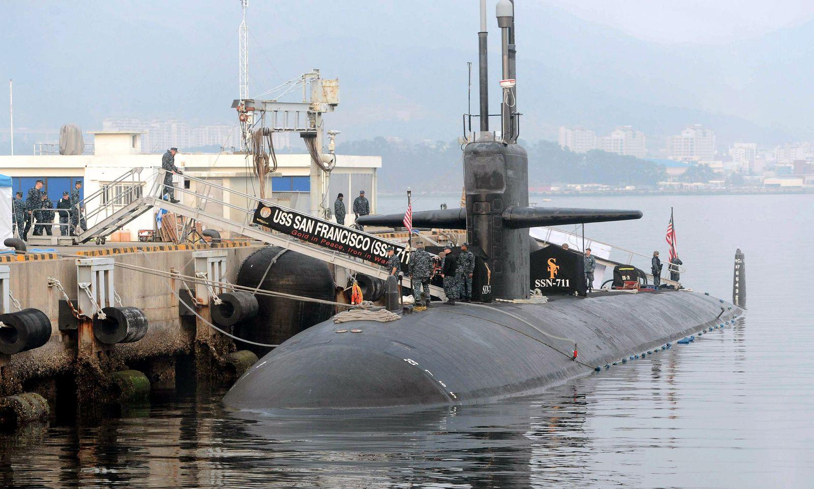 Manöver USA / Südkorea / USS San Francisco