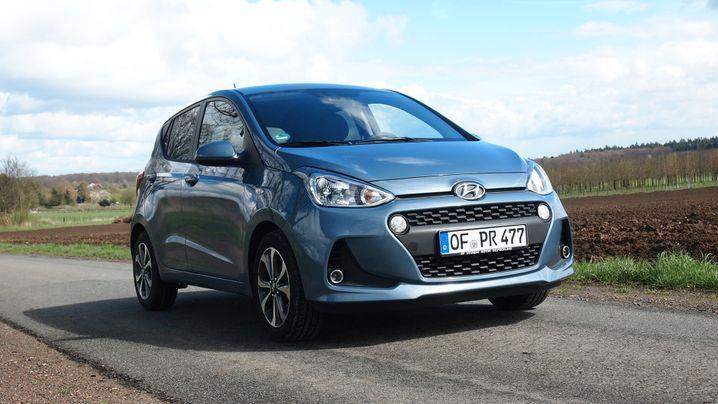 Hyundai i10 blue 1.0: Nie wieder bieder