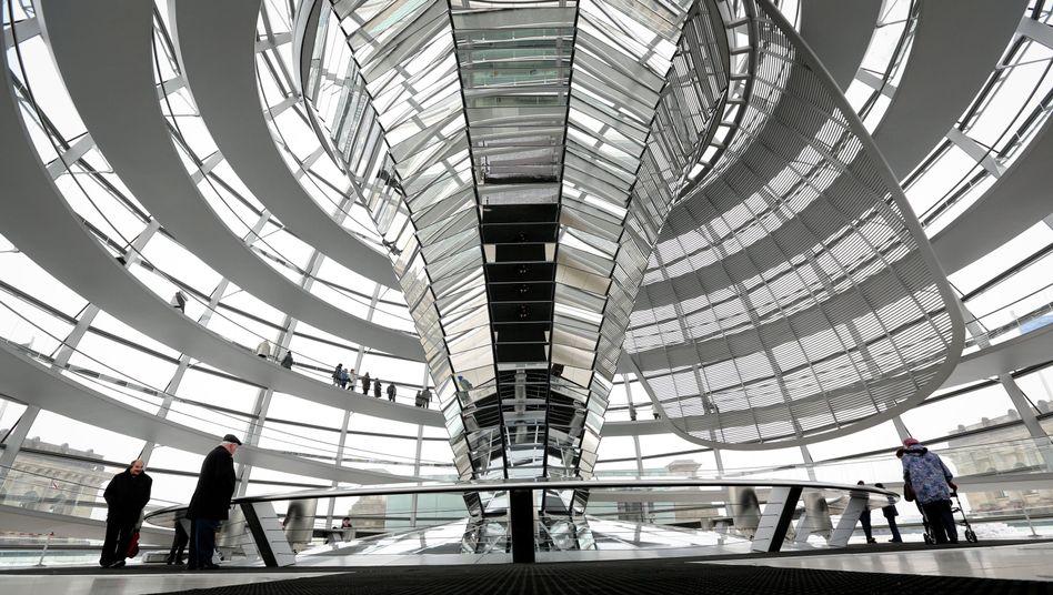 Reichstagskuppel in Berlin: Deutschland muss auch im Digitalen eine Führungsrolle einnehmen