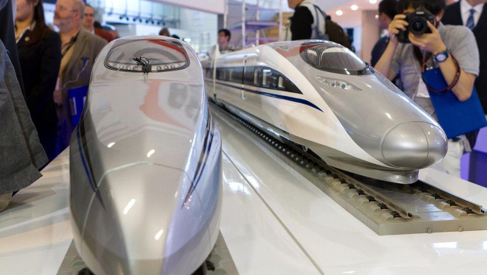 Hochgeschwindigkeitszug aus China: Über 600 km/h auf der Teststrecke