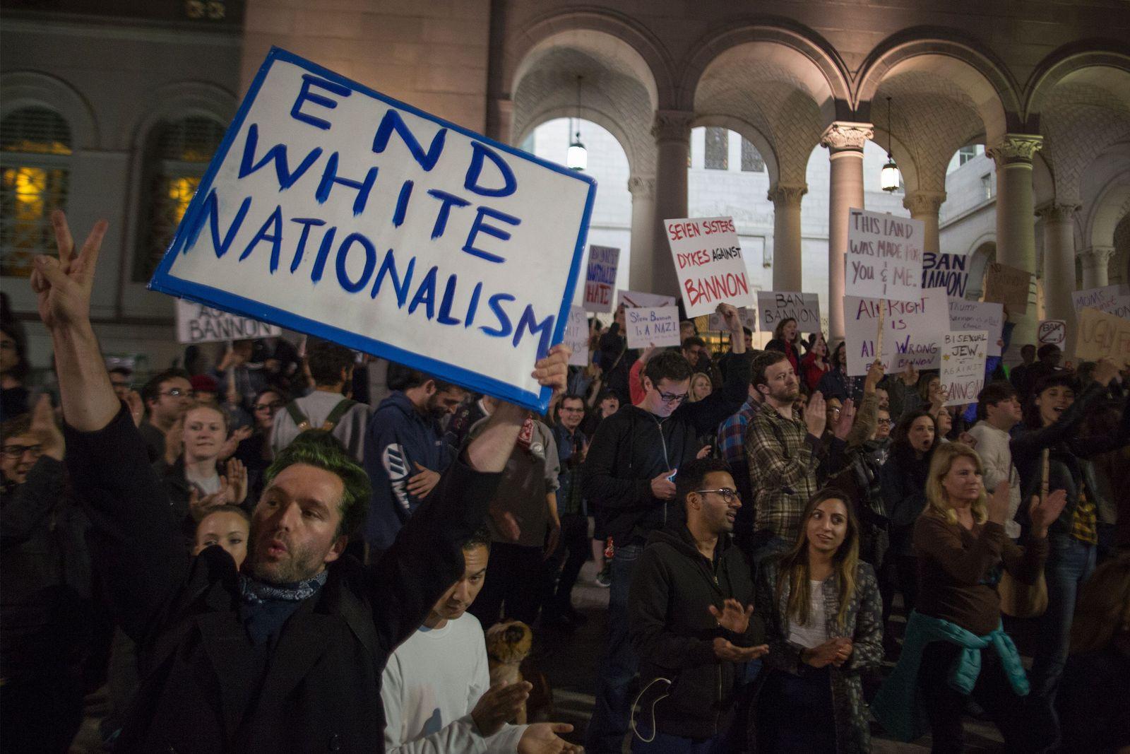 Anti Stephen Bannon Demo