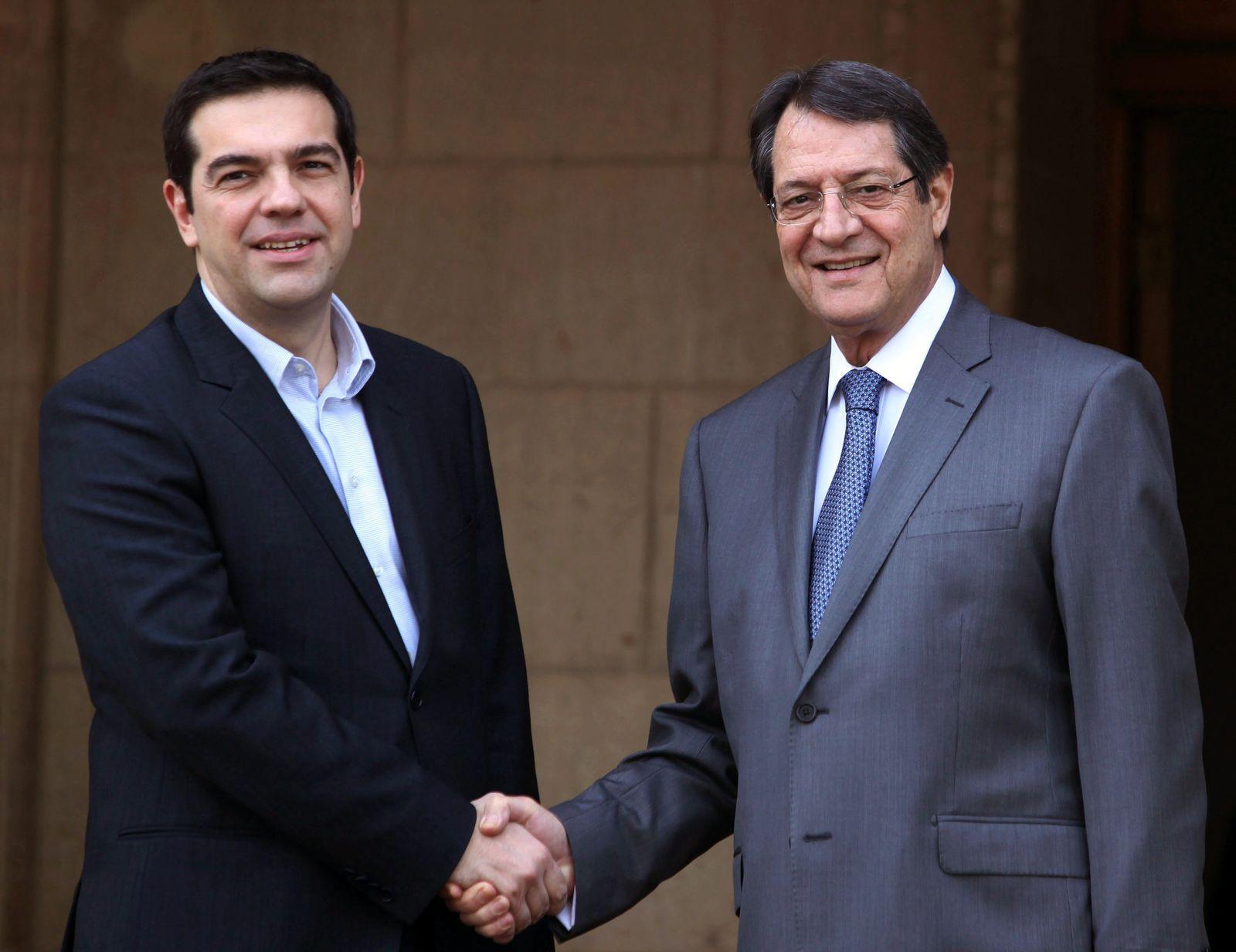 Tsipras / Anastasiadis