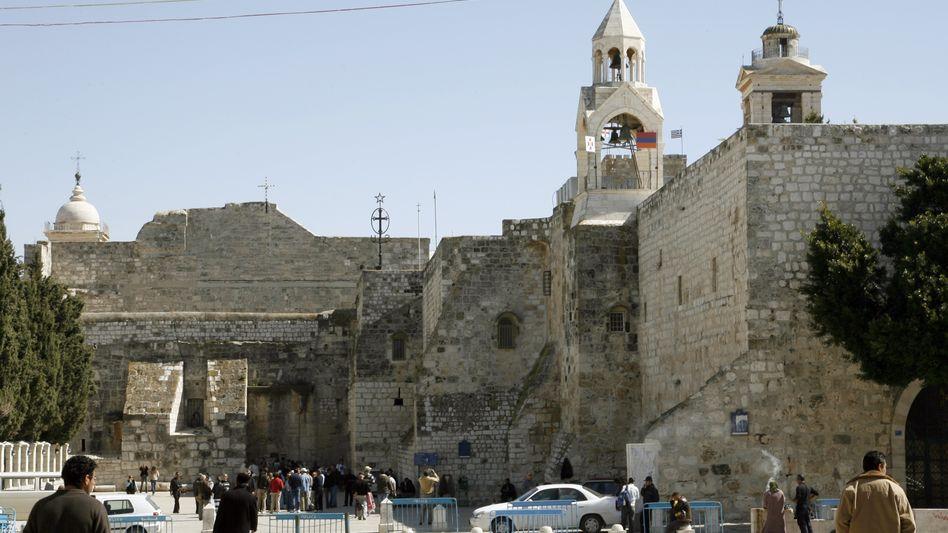 Geburtskirche Jesu in Betlehem: Seit Freitag offizielles Weltkulturerbe