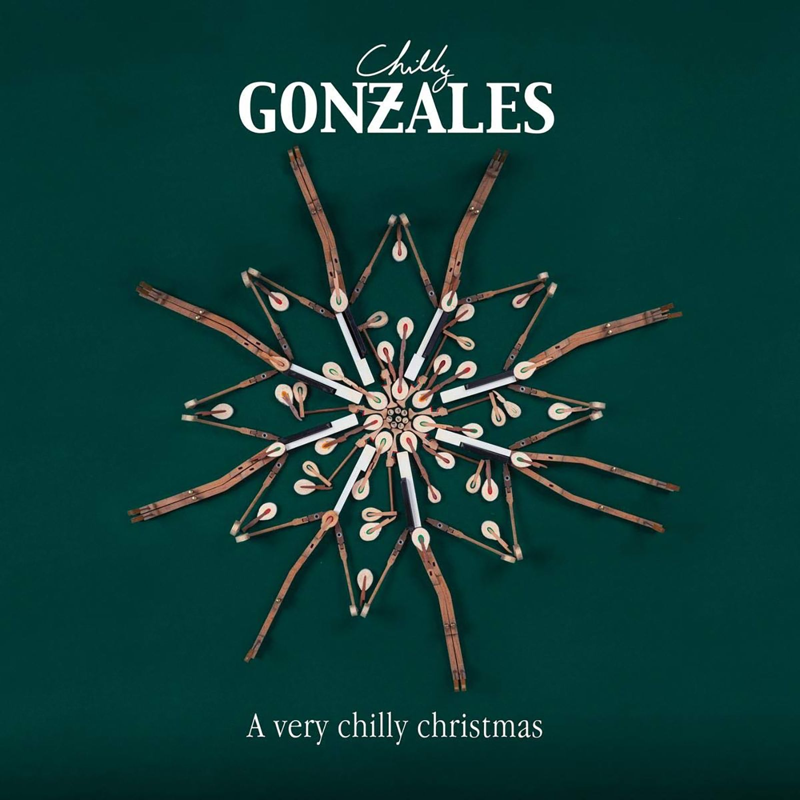 Abgehört/ Chilly Gonzales: A Very Chilly Christmas COVER