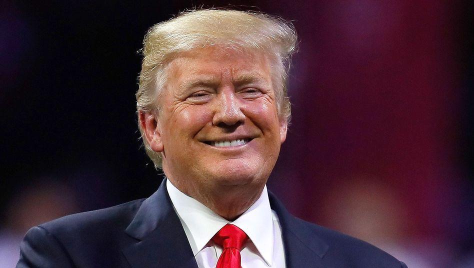 Romanfigurvorbild Trump