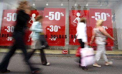 Einkaufsmeile: Entscheidend bleibt der Welthandel