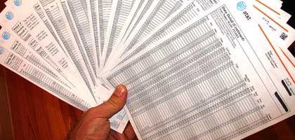 iPhone-Rechnung: Unwichtige Informationen auf 79 eng bedruckten Seiten