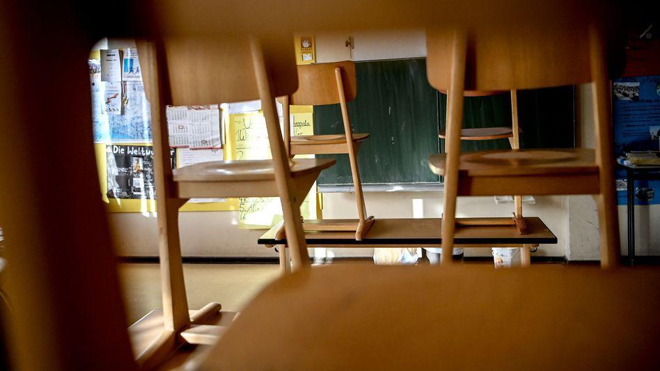 Leere Grundschule in Berlin (Symbolbild)