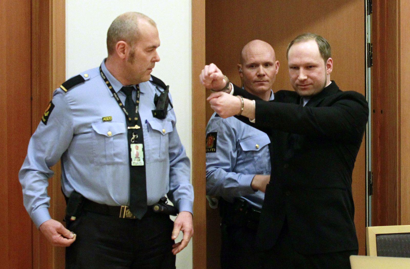 Anders Breivik/ Prozess