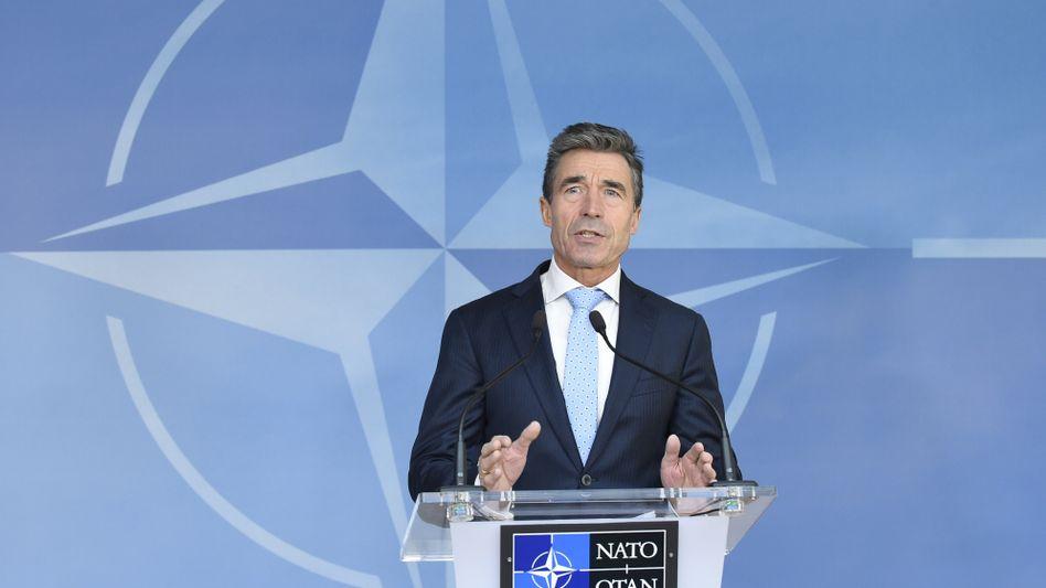 """Nato-Generalsekretär Anders Fogh Rasmussen: """"Die russische Aggression war ein Alarmsignal"""""""