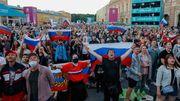 Sankt Petersburg feiert die EM – maskenlos und ungeimpft