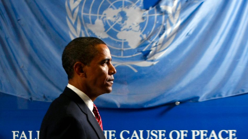 """Krauthammer on US President Barack Obama: """"In Obama's view, America would subsume itself under a fuzzy internationalism in which the international community, which I think is a fiction, governs itself through the UN."""""""