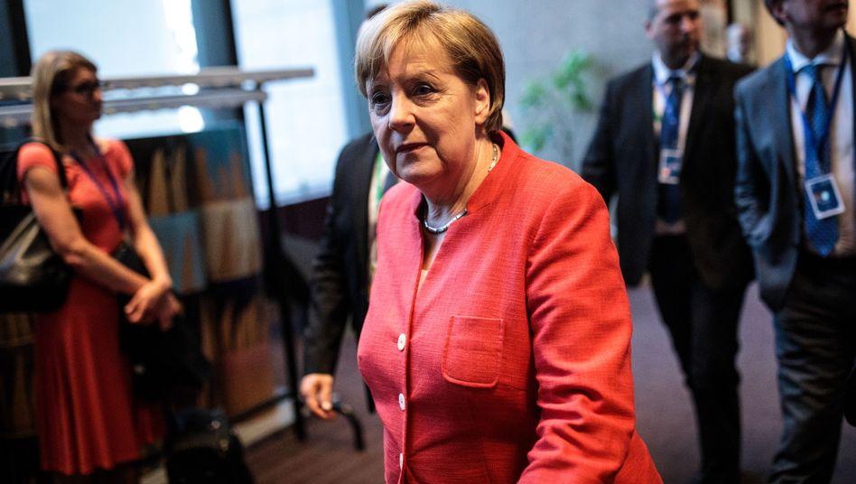 Angela Merkel beim EU-Gipfel in Brüssel