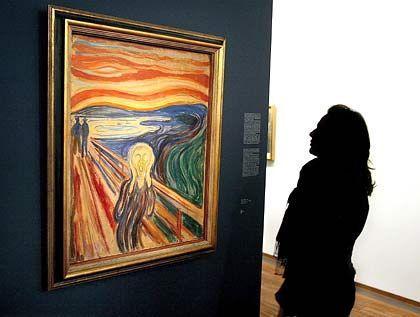 """l""""Der Schrei"""" von Edvard Munch aus dem Jahr 1893: Einfach mitgenommen"""