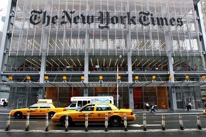 """Hauptsitz der """"New York Times"""": Korrektur nach 48 Jahren"""