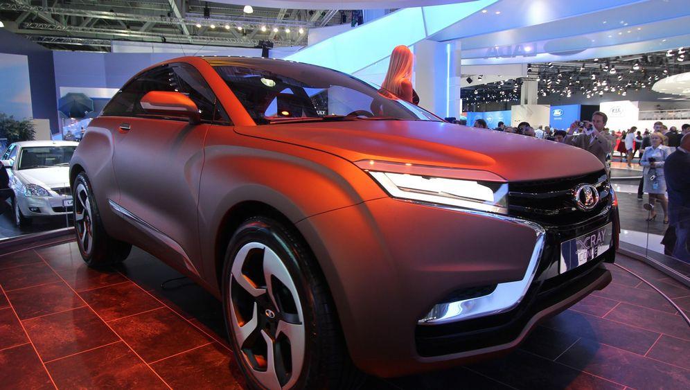 Moskau Motorshow: Motoren für Millionen