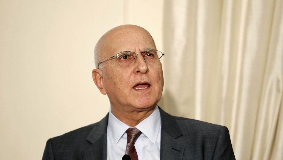 Präsidentschaftskandidat Dimas (Archivbild): Griechenland steuert auf Neuwahlen zu