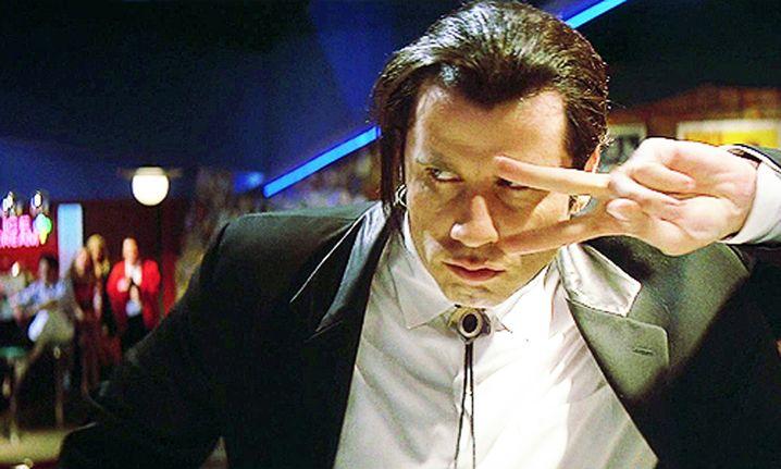 "John Travolta in ""Pulp Fiction"" (1994)"