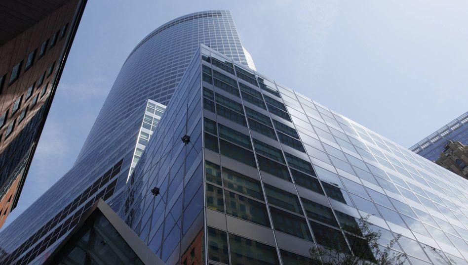 Zentrale von Goldman Sachs: Im Zweifel lieber nicht abschicken