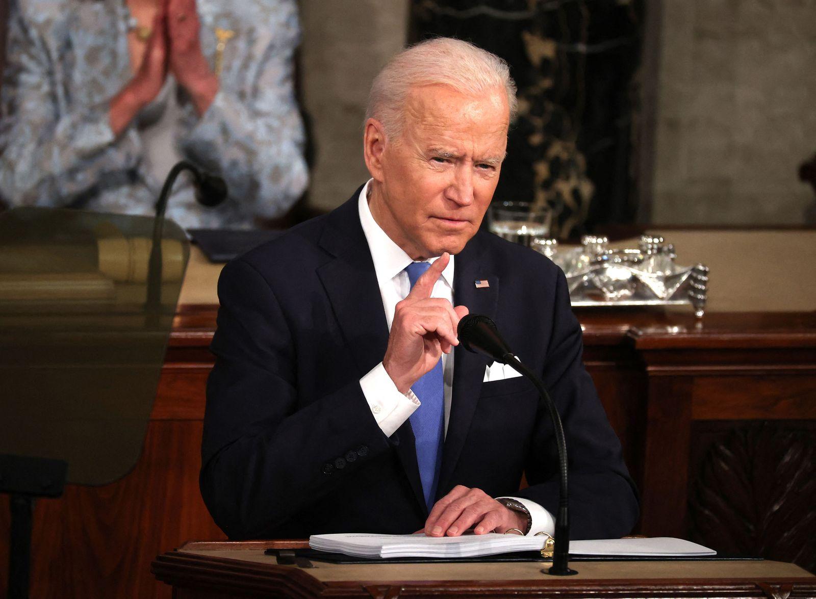 Biden addresses Congress to mark 100 days in office
