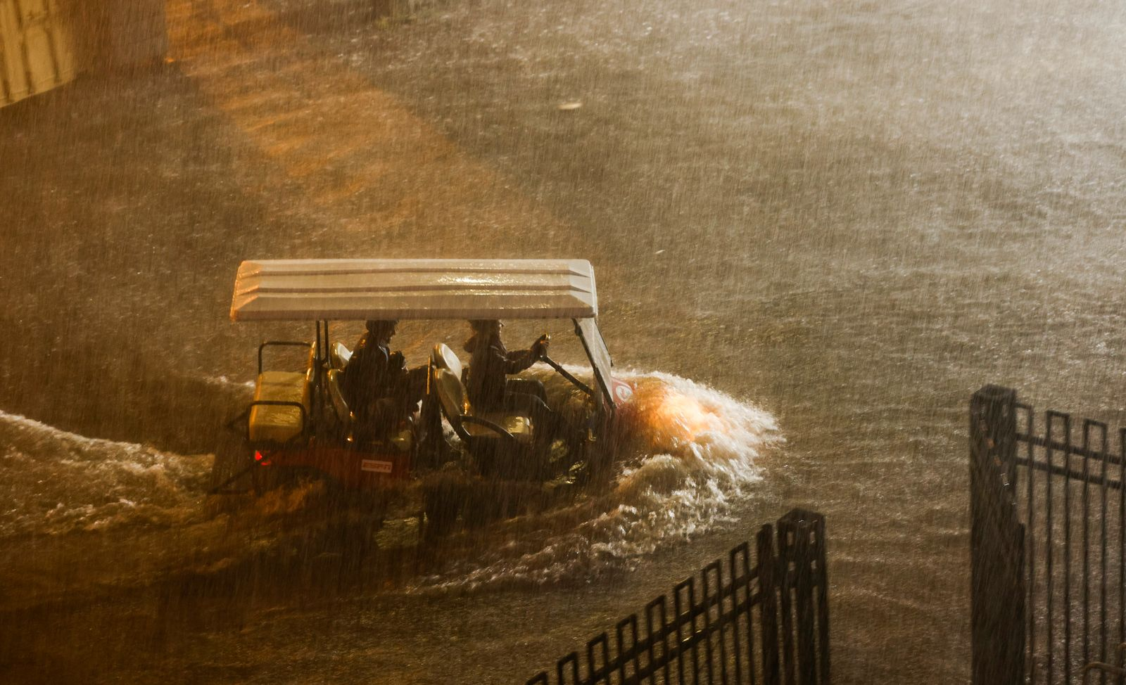Heavy Rains in New York from Renants of Hurricane Ida