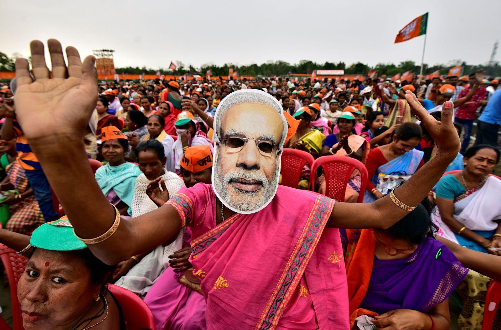 Indien Wahlen / Modi