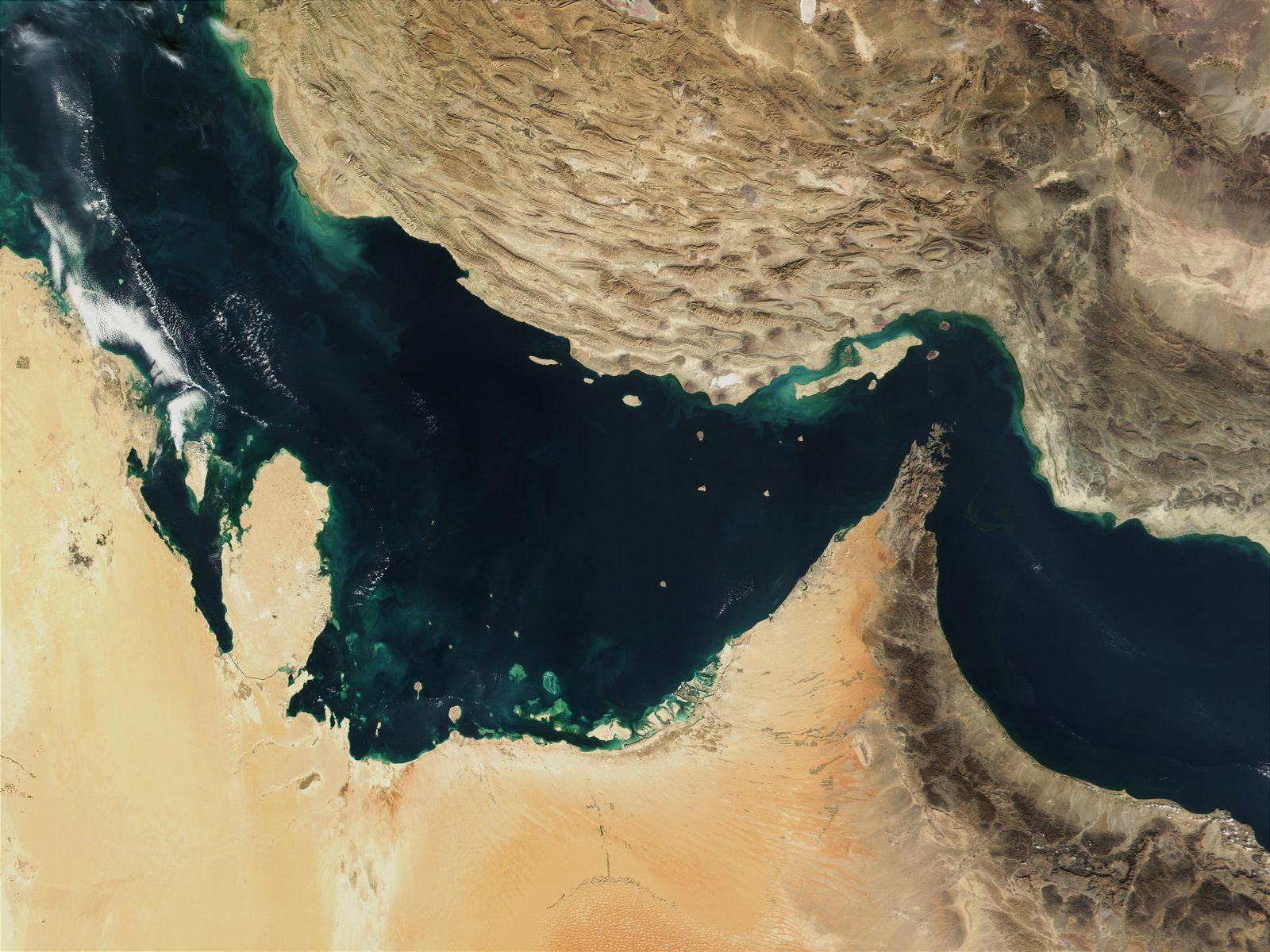Iran/ Straße von Hormus