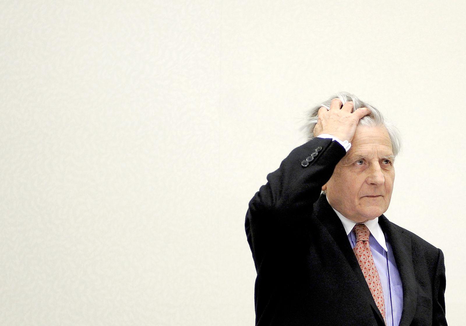 Zentralbank-Chef Trichet zersaust