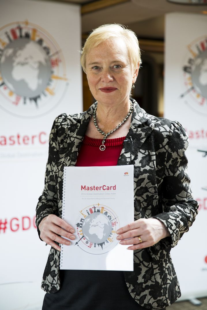 Mastercard-Vorstandsmitglied Ann Cairns