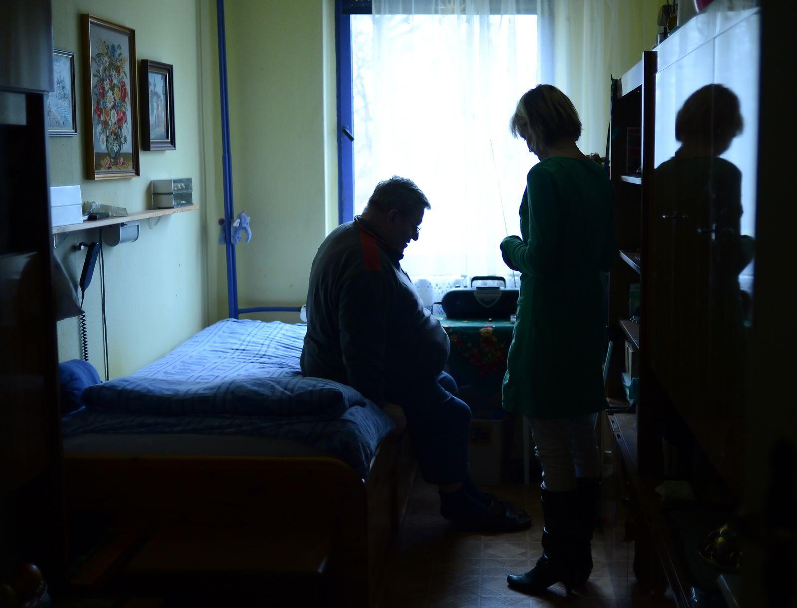 Häusliche Pflege / Pflegebedürftiger