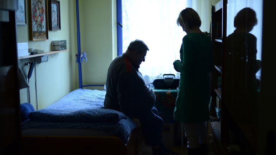 Betreuung eines Schlaganfall-Patienten
