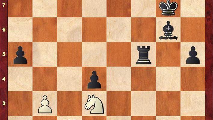Schlussstellung bei Sergej Karjakin und Wesselin Topalow