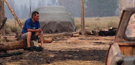 Waldbrand in den USA: »Als ich hier ankam, war es wie ein Schuss in den Bauch«
