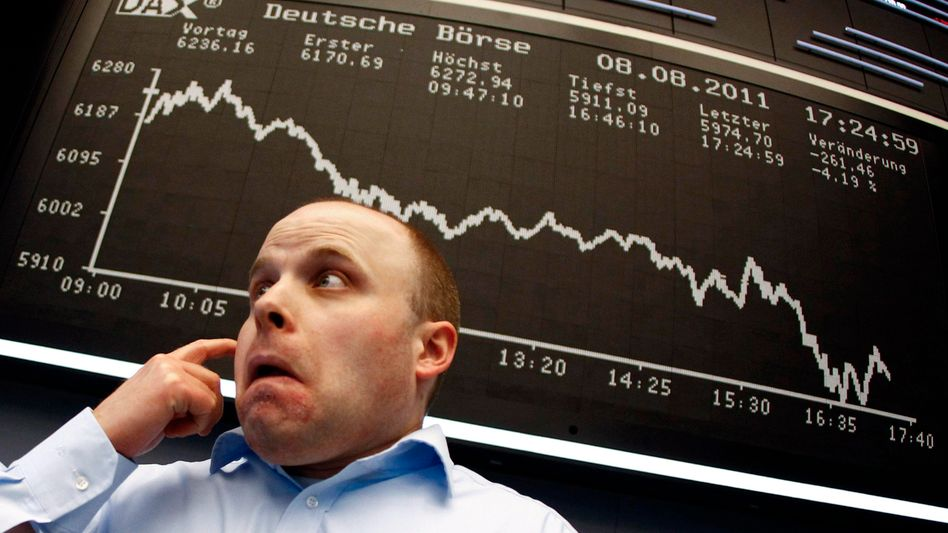 Händler an der Frankfurter Börse: Es gibt Parallelen zu früheren Krisen