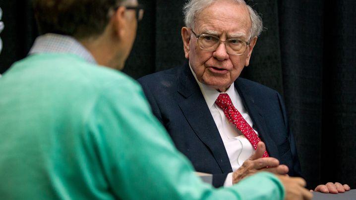 """Buffetts Weisheiten: """"Investieren Sie Geld so, wie sich die Katholiken verheiraten"""""""