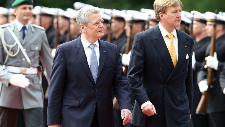 Niederländisches Königspaar: Willem und Máxima in Deutschland