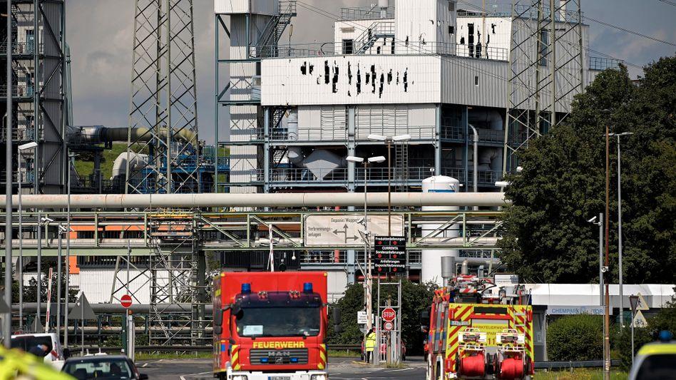 Chempark Leverkusen am Mittwoch