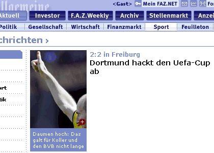 Dortmund hackt ab
