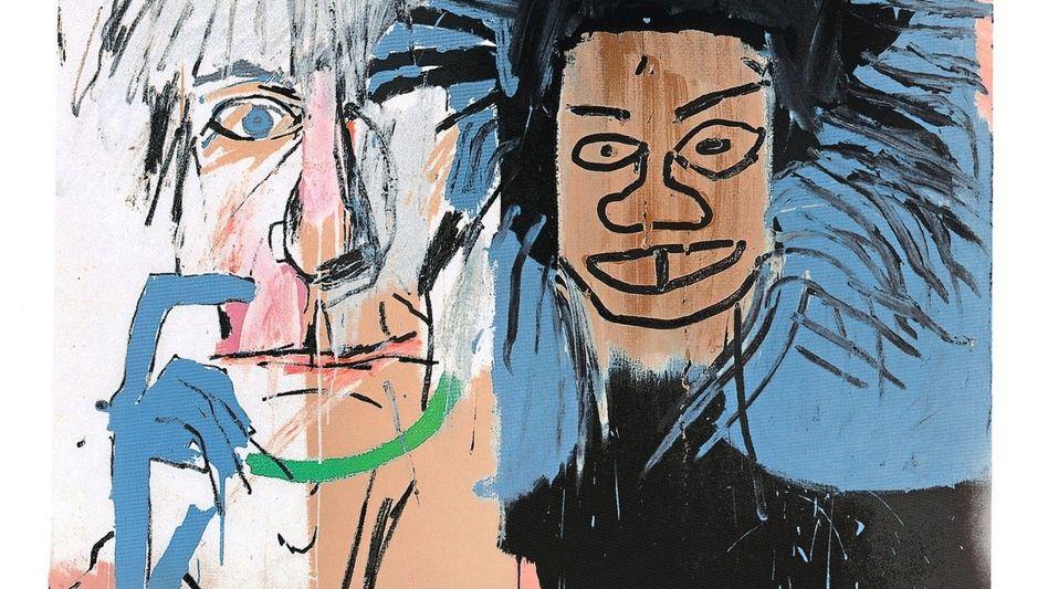 Basquiat-Werk »Dos Cabezas« (1982)