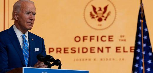 USA: Joe Biden erhält erstmals täglichen Geheimbericht