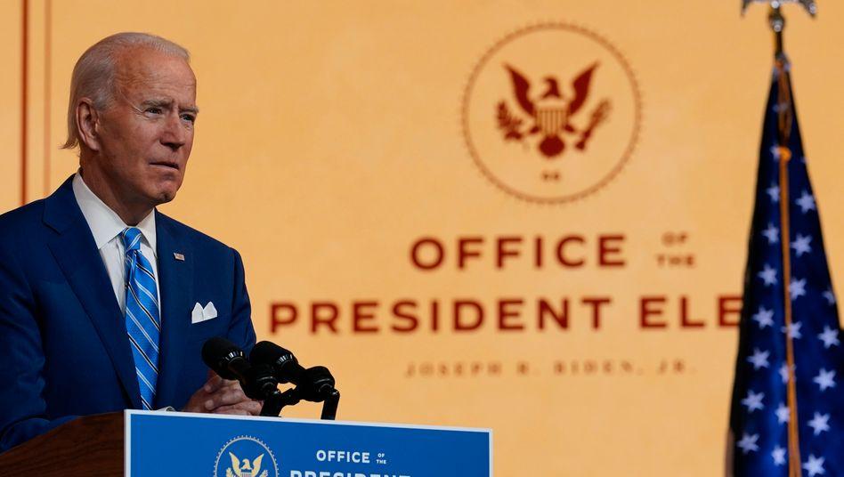 Designierter US-Präsident Joe Biden