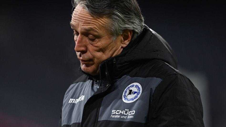 Arminia-Coach Uwe Neuhaus