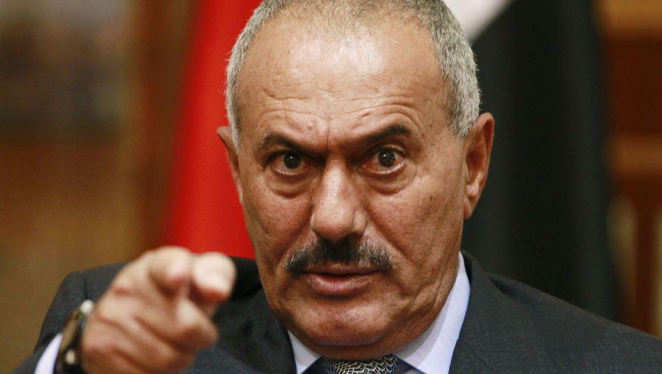 Jemenitischer Noch-Präsident Salih: Führte er Washington gezielt hinters Licht?