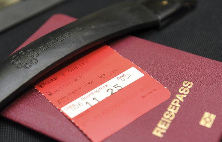 Besser noch mal digital: Wer schlau ist, scannt alle Reisedokumente ein