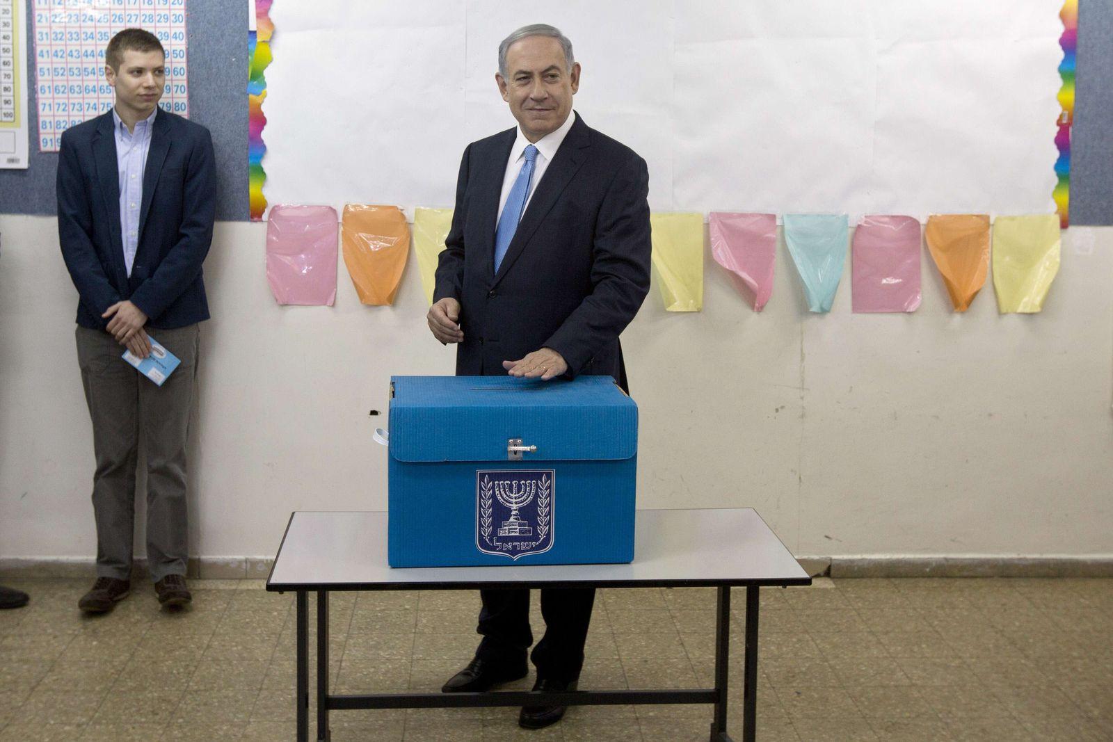 Netanjahu / Stimmabgabe