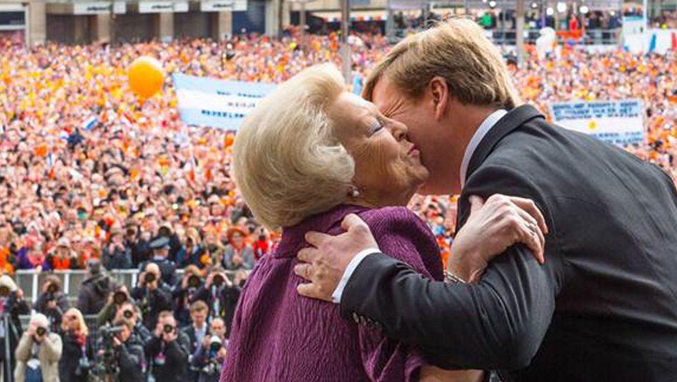 Vereidigung von Willem-Alexander: Heute ein König