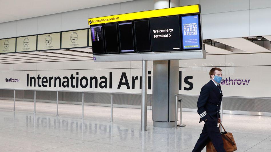 Flughafen Heathrow in London: Neue Beschränkungen im Luftverkehr