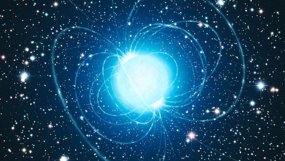 Magnetar (grafische Darstellung): Wie entsteht ein Schwarzes Loch?