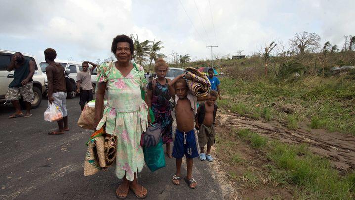 "Zyklon ""Pam"": Verwüstungen in Vanuatu"